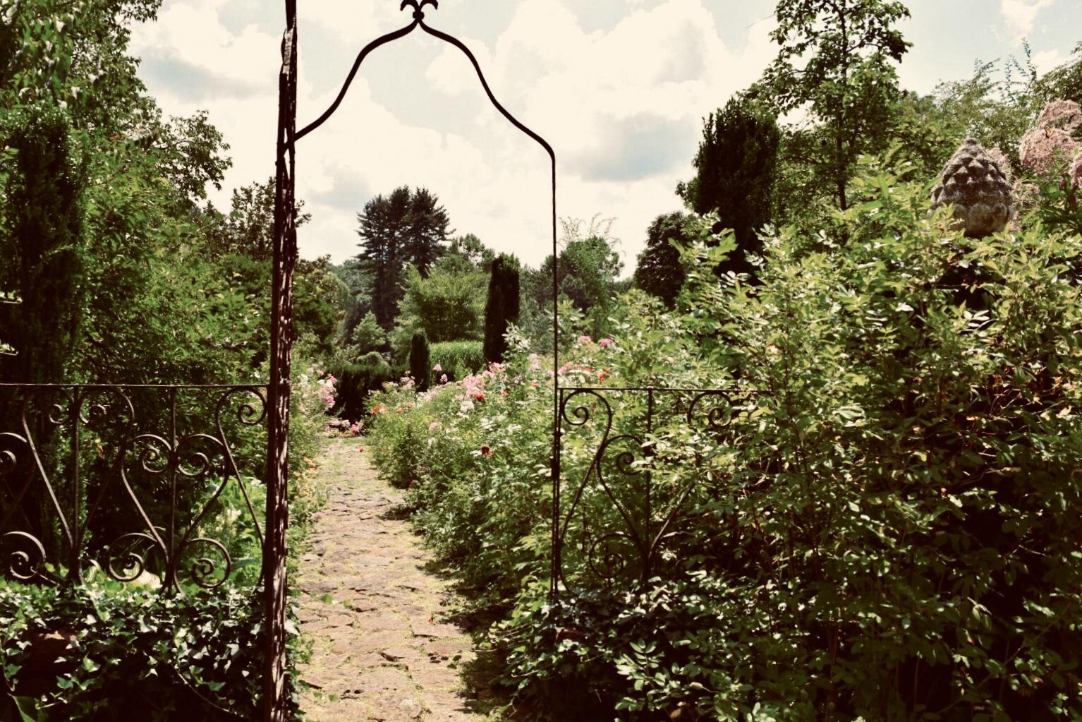 Enter the Secret Garden at the Bamboo Brook Outdoor Educational Center